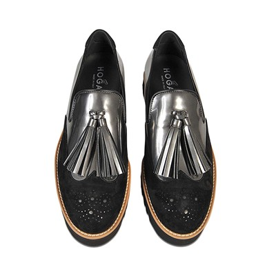 HOGAN Derbies en cuir - noir