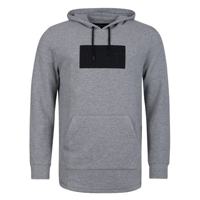 ÜNKUT Slab - Sweat à capuche - gris