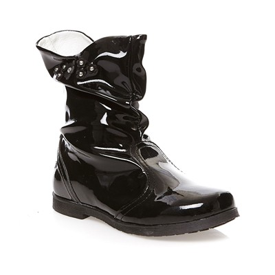 Saffy - Boots vernies - noir