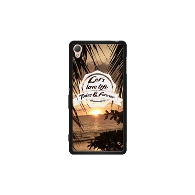 Let Forever Today The Love Coque Z3 S Sony Xperia Kase Noir Life Pour And Fxw55q40X