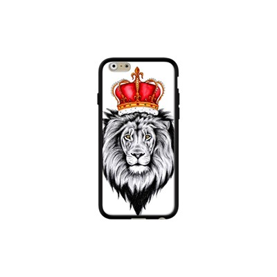 Lion King - Coque pour iPhone 6/6S - noir