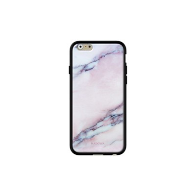 Pink marble - Coque iPhone 6 - 6s - noir