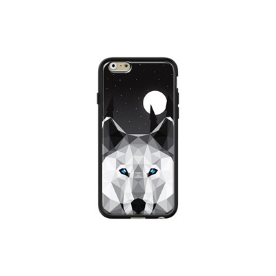 The Tundra Wolf - Coque pour iPhone 6/6S - noir