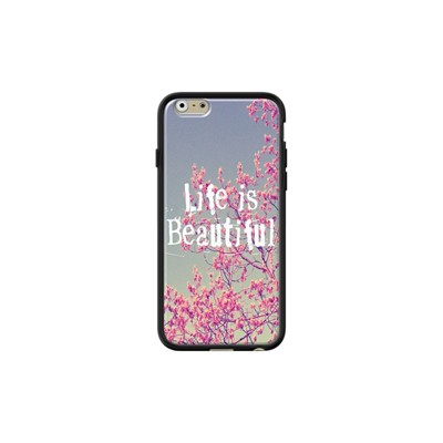 Life is Beautiful - Coque pour iPhone 6/6S - noir