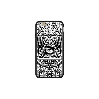 Phone case The Circle of Illuminati by Gangtoyz - Coque pour iPhone 6/6S - noir
