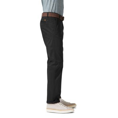 DOCKERS Bic Alpha slim tapered stretch - Pantalon chino - noir