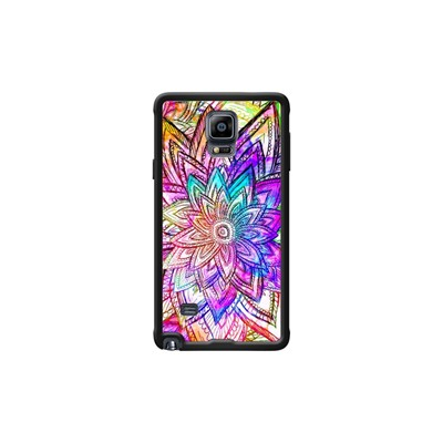 Samsung Floral Galaxy Note 4 Pour Vintage Pattern Coque Kase The Noir Colorful qx4w0Ot