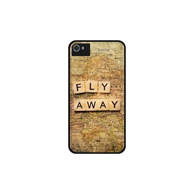 Coque Fly Iphone Pour 4s Noir Away 4 2 The Kase xaqATT