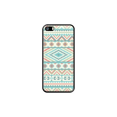 Friendship Bracelet Navaho - Coque pour iPhone 5/5S/SE - noir