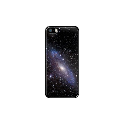 Galaxy Andromeda - Coque pour iPhone 5/5S/SE - noir