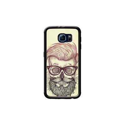 Kase Pour Galaxy Samsung The Noir S6 Hipster Coque Dead Is ZAxwnqdwH