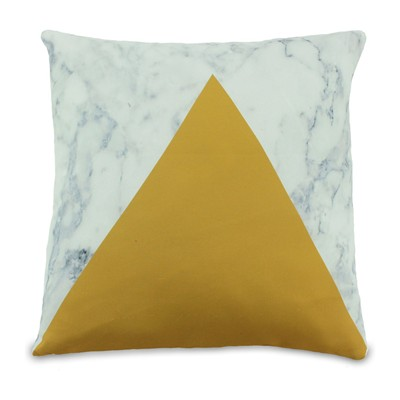 Duo - Coussin - moutarde