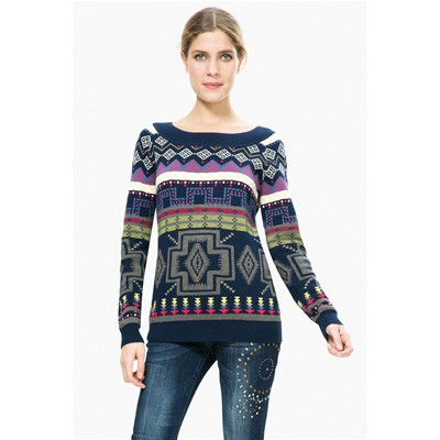 Epoque - Pull - multicolore