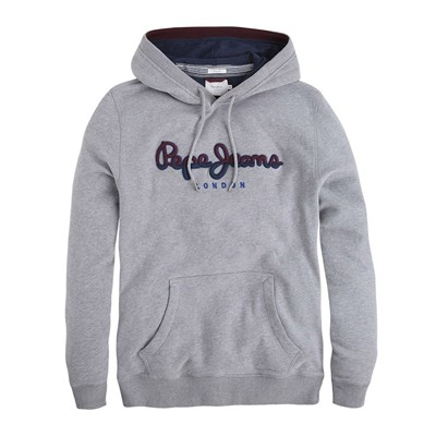 PEPE JEANS LONDON Styx - Sweat à capuche - gris