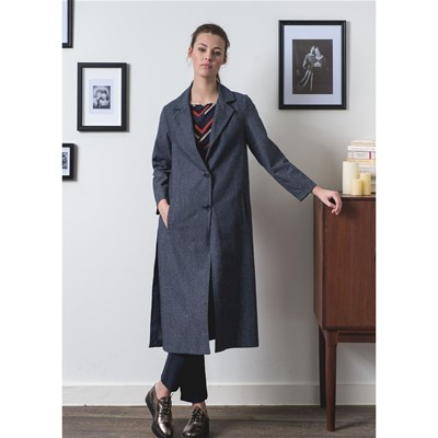 Dandy - Manteau long dandy - gris