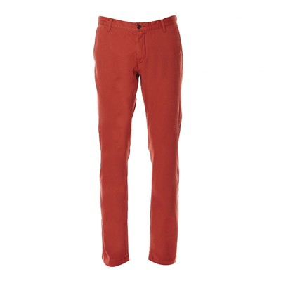 Bic washed slim tapered stretch - Pantalon chino - bordeaux