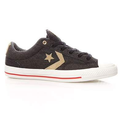 Star Player Denim Ox - Baskets - noir