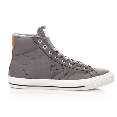Star Player Leather Hi - Baskets en cuir - gris