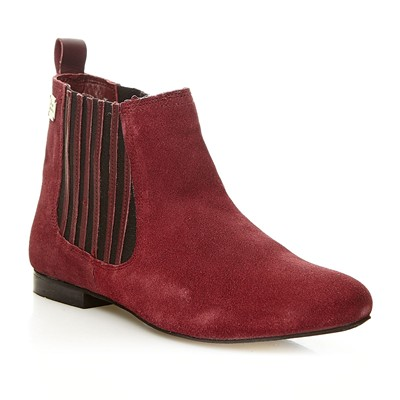 Bowie Brit - Bottines en cuir suédé - bordeaux