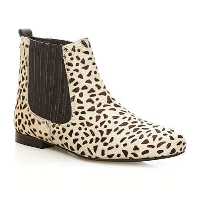 Bowie Animal - Bottines en cuir suédé - brun