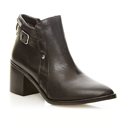 Cooper Low - Bottines en cuir - noir