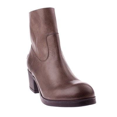 Bottines en cuir - gris