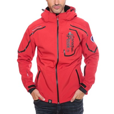 Triyuga - Veste coupe-vent - rouge