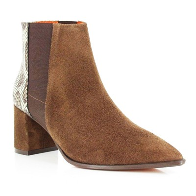 Adam - Bottines en cuir - moka