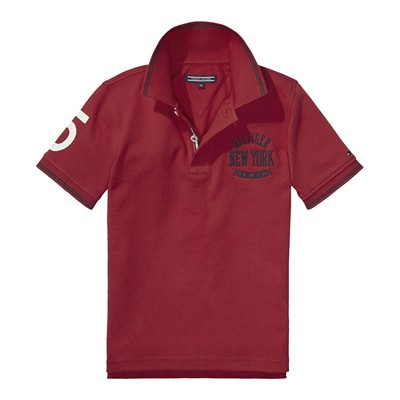 TOMMY HILFIGER Polos - rouge