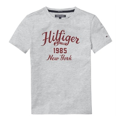 TOMMY HILFIGER T-shirt - gris clair