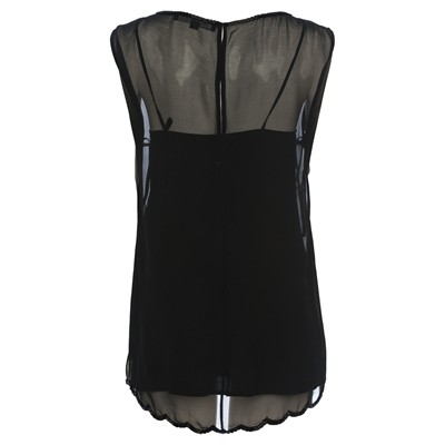 FRENCH CONNECTION Top - noir