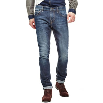 Superskinny - Jean skinny - denim bleu