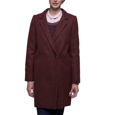 Trench And coat manteau - pourpre