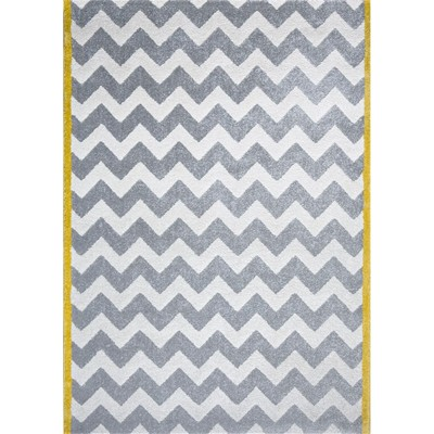 Art For kids chevron - tapis - gris