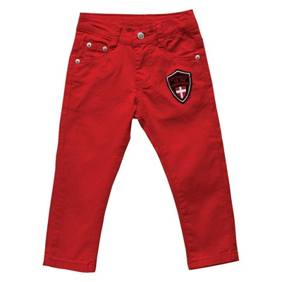 Switzerland - Pantalon Garçon - rouge