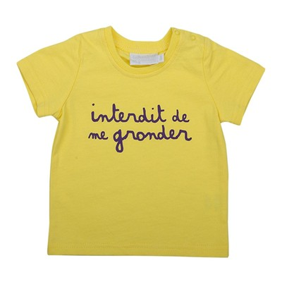 L'interdit - T-shirt - jaune