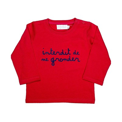 L'interdit - T-shirt bébé - rouge