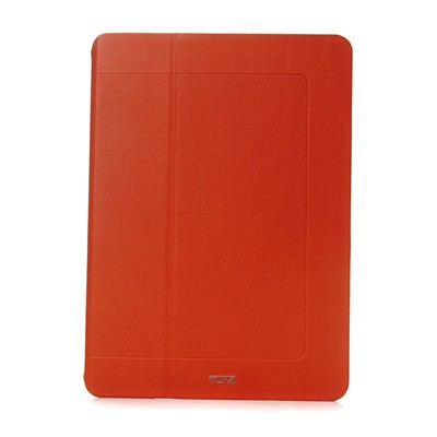 Etui en cuir pour Ipad Air - orange