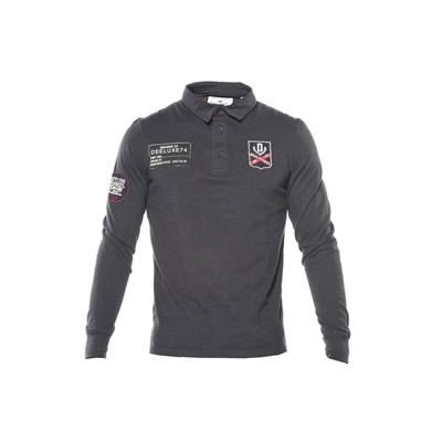 Deeluxe Terence - polos - anthracite