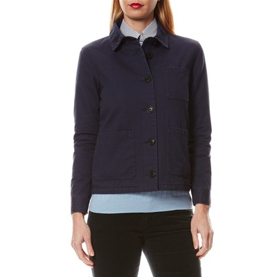 The Frenchie - Veste en coton - bleu marine
