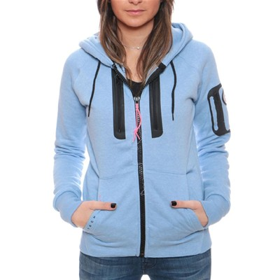 Geographical Norway Fabricot - Sudadera con capucha - celeste