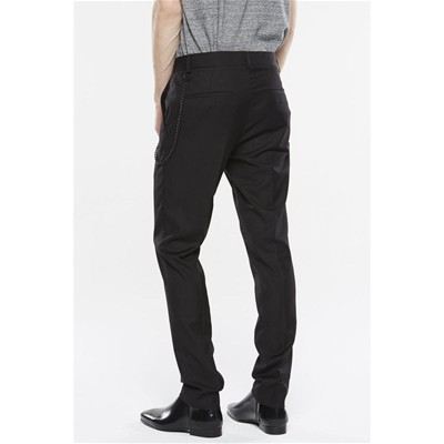 ELEVEN PARIS Minner - Pantalon droit - noir