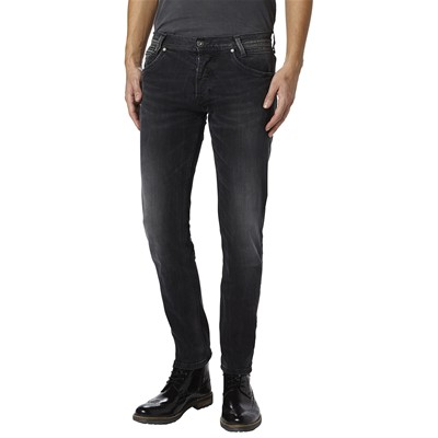 PEPE JEANS LONDON Spike - Jean slim - denim noir