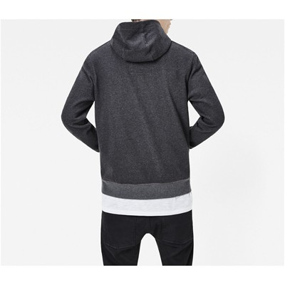 G STAR Core - Sweat à capuche - gris chine