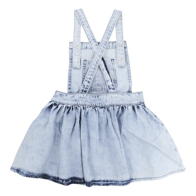 Robe salopette - denim bleu