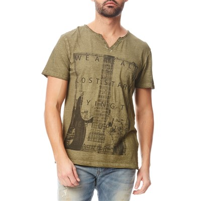 Best Mountain t-Shirt en coton - army