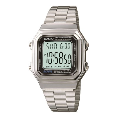 Casio Collection Retro - Montre - gris