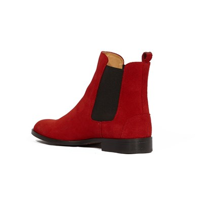 Fischeri - Bottines en cuir - rouge