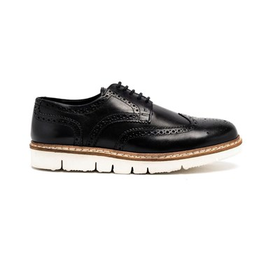 Brogue - Derbies en cuir - bleu