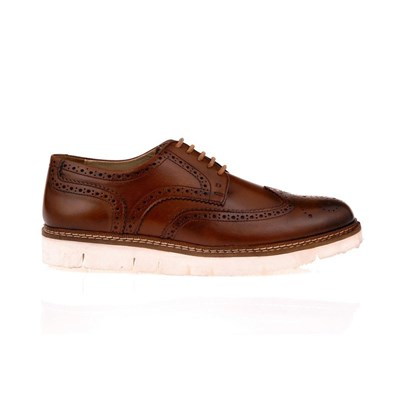 Brogue - Derbies en cuir - marron